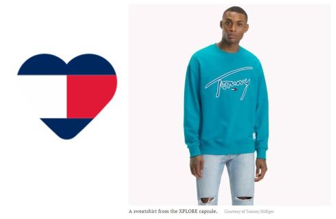 Tommy Shirt and Heart